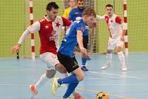 Na další start si futsalista Olympiku Mělník Dominik Zdržálek bude muset nějaký čas počkat.