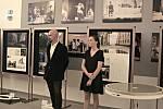 Ze slavnostního zahájení výstavy Svatá Ludmila