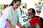 Den zdraví v mělnické nemocnici.