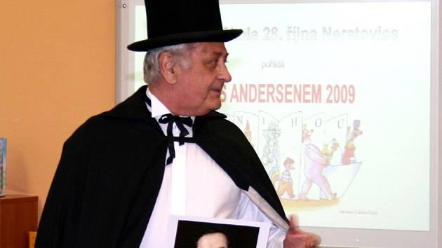 Noc s Andersenem v neratovické škole 28. října.