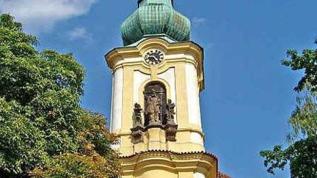 Kostel svatého Klimenta v Odoleně Vodě.