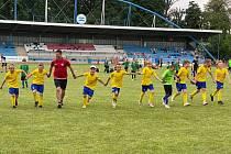 Neratovický tým U10 obsadil na turnaji v Roudnici páté místo.