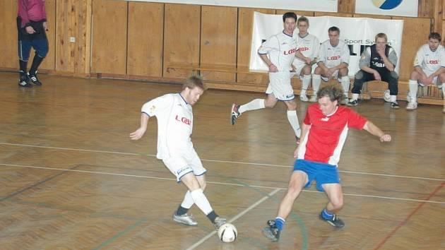 Z futsalového utkání Loap Cup.