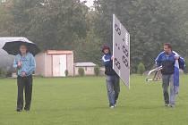 Turnaj v Řepíně ukončil vytrvalý déšť