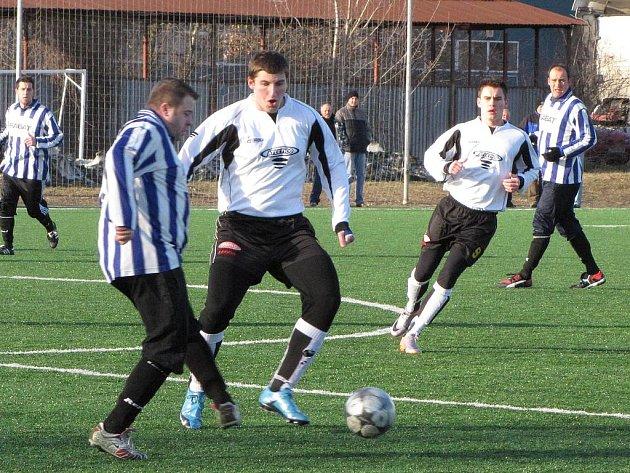 Příprava: FC Mělník - Dynamo Nelahozeves