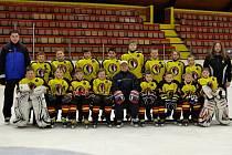 MLADŠÍ ŽÁCI HC Junior Mělník, sezona 2014/2015.