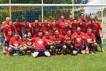 Fotbalisté Vysoké s předstihem oslavili titul v okresních přeborníků.