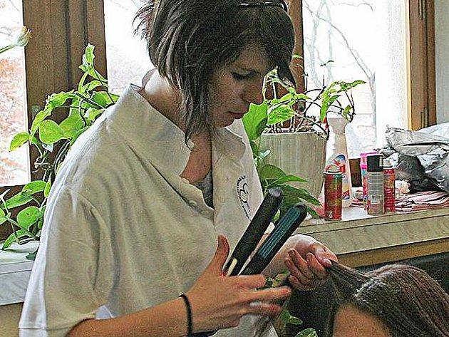 Učnice Lucie Drbalová.