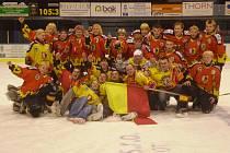 Dorostenci HC Junior Mělník si vybojovali účast v lize.