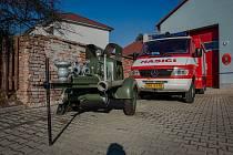 V Obříství byla slavnostně otevřena nová hasičská zbrojnice.