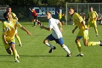 Z divizního utkání Ovčáry - Turnov (4-1)