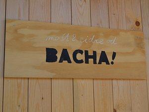 Bacha, blíží se cidre od Bacha