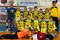 Mladší žáci TJ EMĚ - I. HC Wendy Mělník obsadili na turnaji v Jičíně druhé místo.