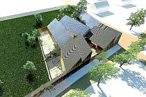 Na střeše mateřské školy mají být umístěny solární panely na výrobu elektřiny.