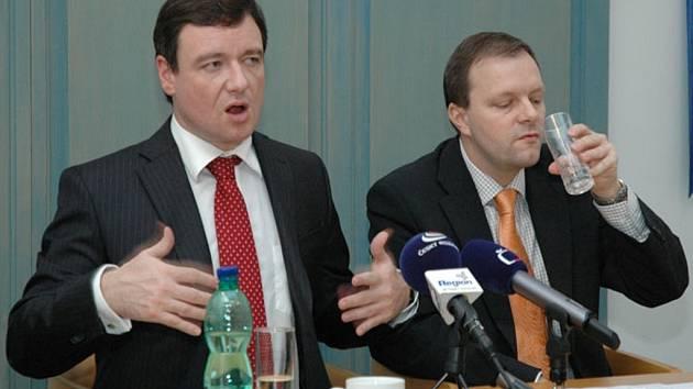 David Rath a Marcel Chládek