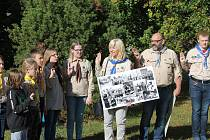 Během sobotního odpoledne došlo k symbolickému předání lip svobody, které byly vysazeny na veřejném prostranství mezi ulicemi Wolkerova a Sokolovská mělnickými skauty 3. a 12. oddílu při příležitosti oslav 50. výročí vzniku republiky 28. října 1968.