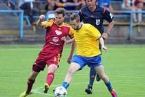 FK Neratovice/Byškovice - FK Dukla Praha (0:4); 2. kolo poháru MOL Cup; 28. srpna 2015