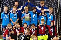 Dva týmy Tygrů v Kralupech z jednoho turnaje přivezly poprvé zlato i stříbro.