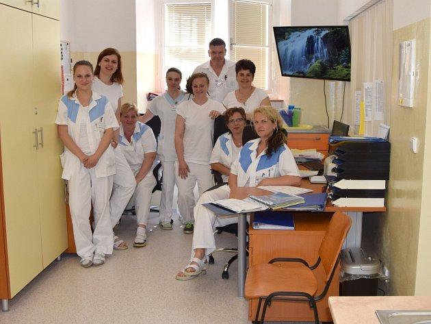 Personál i pacienti hornobeřkovické nemocnice se dočkali moderního oddělení.