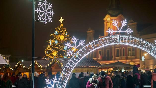 Tradiční Vítání Adventu se uskuteční v sobotu 30. listopadu na mělnickém náměstí Míru.