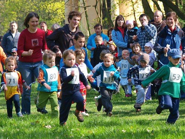 Běh veltruským parkem
