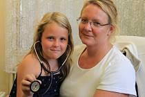 Kateřina Hartlová s dcerou Emou.