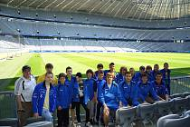 Žáci FK Neratovice/Byškovice na Bayern Trophy 2011