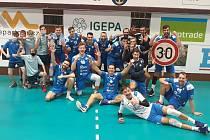 Volejbalisté Aera Odolena Voda porazili Zlín 3:0.