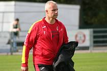 Trenér Byšic Daniel Hnízdil