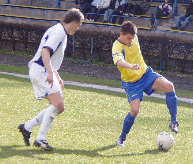 Z A třídního utkání Neratovice - Velvary (2:1).