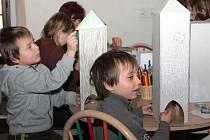 Dětský workshop v galerii Ve Věži.