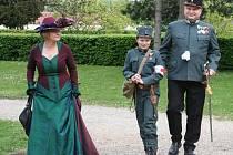 Vojensko historická slavnost Audience císaře Karla I. v Brandýse nad Labem.
