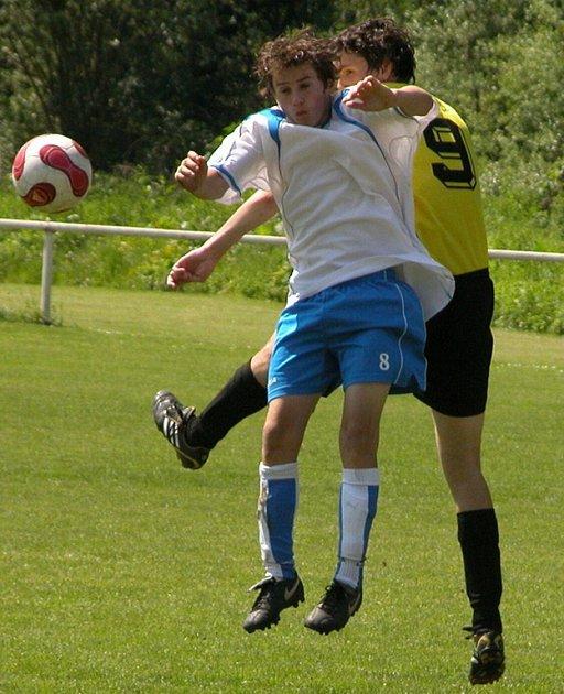 V utkání I. A třídy dorostu skupiny A si velký Borek doma zdolal Dynamo Nelahozeves 4:2