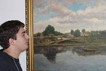 Některá autorova díla jsou aktuálně po šedesáti letech od jeho úmrtí vystavena v kralupském městském muzeu až do 21. listopadu. Průměrná cena maleb tohoto autora se dnes na trhu pohybuje kolem třiceti tisíc korun za kus.