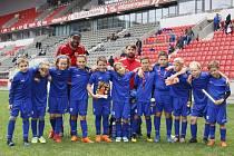 Přípravky FK Neratovice/Byškovice si zahrály turnaj partnerských klubů SK Slavia Praha.