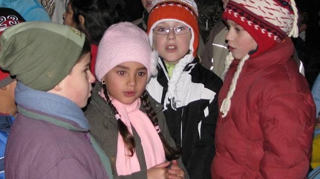 Slavnostní rozsvícení vánočního stromečku v Cítově