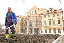 Rekonstrukce liblického  zámku na přelomu června a července po pěti letech skončí.