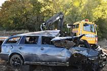 Smrtelná dopravní nehoda u Mlčechvost.