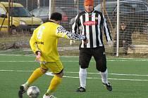 Mělnická zimní liga: FC Mělník - Libiš B