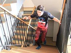 V Neratovicích se konal druhý ročník běhu do schodů s názvem Neratovická 201.