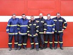Dobrovolní hasiči z Mlékojed