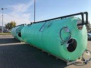 Instalace vodního hospodářství technických služeb města.