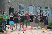 Celostátní happening základních uměleckých škol ve veřejném prostoru podpořila i Základní umělecká škola v Neratovicích.