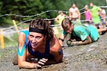 Mirka Dobsová na Predator race.
