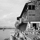 Veslařská klubovna v Rybářích. 9. října roku 1981 byla ve veslařském klubu oslava výročí 100 let trvání mělnických veslařů.