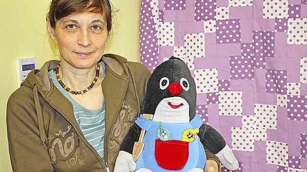 Yvetta Holanová a její Krteček.
