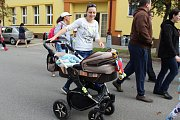 Běh pro školní hřiště v Lužci nad Vltavou.