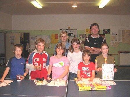Přišlo celkem 9 hráčů do patnácti let a 8 dospělých.