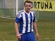 Zdeněk Šenkeřík v dresu Sokola Libiš.
