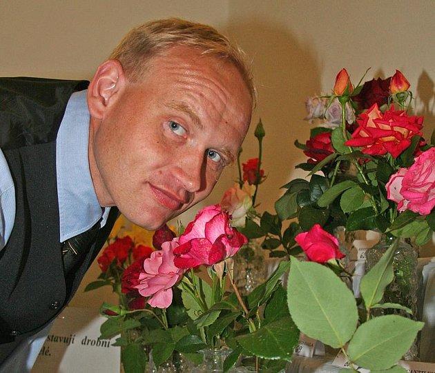 Pěstitel růží Miroslav Habrych
